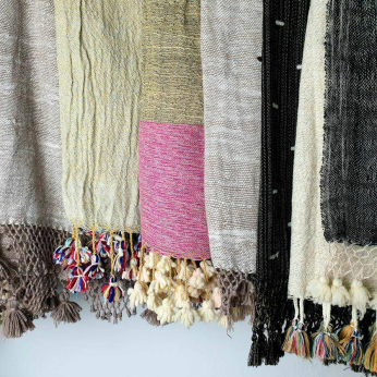 Wool ponchos