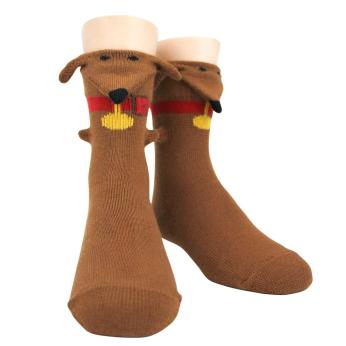 3D Dachshund / Kids Socks