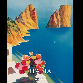 Italia Small Desk Calendar 2022