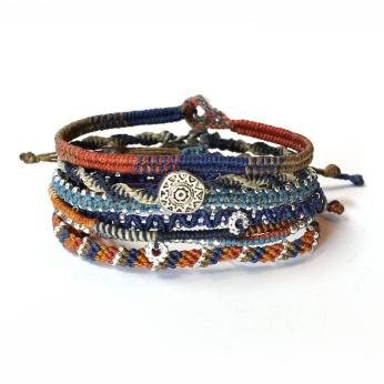 Oasis Earth Bracelet - Set of 7