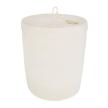 Lidded Laundry Basket - Ivory