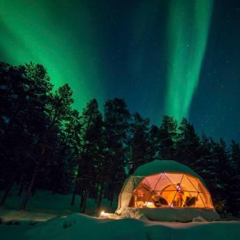 Northern Lights in Finnish Lapland