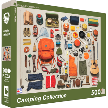 Camping Equipment Puzzle