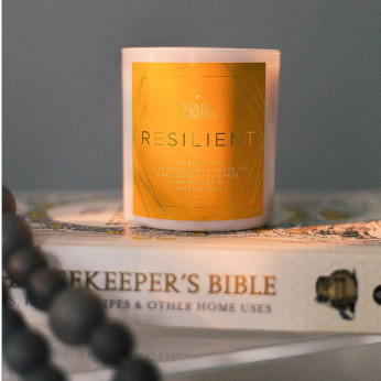 Affirmation candle - Resilient