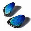 Big Morpho Wing Earrings