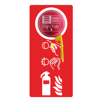 Extinguisher Cover Decal