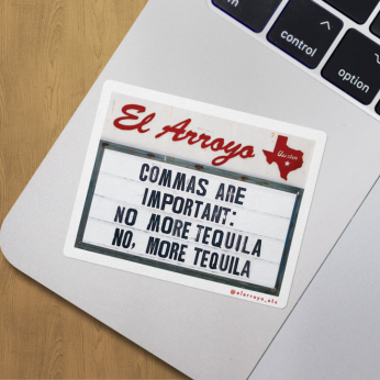 El Arroyo Stickers