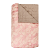 Hand Quilt Throw | Brown