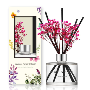 Diffuser & Candle & Flower
