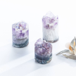 Calcite Amethyst Crystal Cupcakes