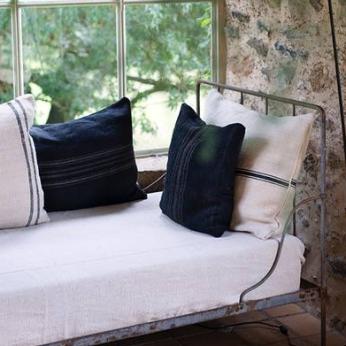Hand-Dyed Hemp Pillows