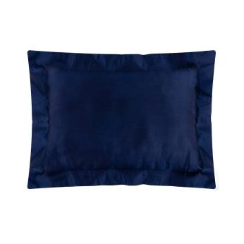 Oxford Silk Pillowcase   Night Blue
