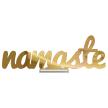Namaste   Tabletop Centerpiece   Shelf Decor