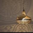 Moroccan pierced hanging lights