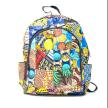Kitenge Patch Back Pack