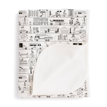 French Terry Blanket Winter Water Factory x Maptote