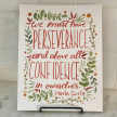 """Marie Curie """"We must have perseverance..."""" Art Print"""