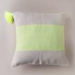Handwoven Neon Pillow