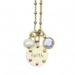 Inspirational Faith Jumble Necklace