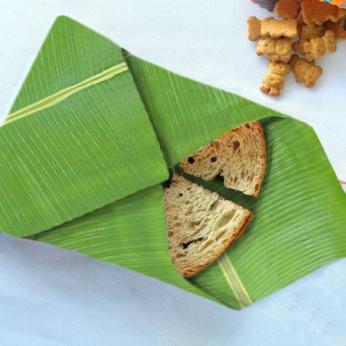 Leaf Shaped Beeswax Wraps