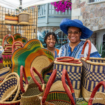 Gorgeous Baskets from Ghana