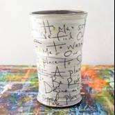 """""""Home Poem"""" Round Vase"""