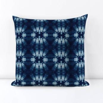 Hana Shibori Pillow