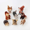 Klassy Collections - Brush Woodland ornaments