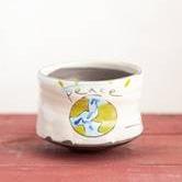"""""""World Peace"""" Tea Bowl"""