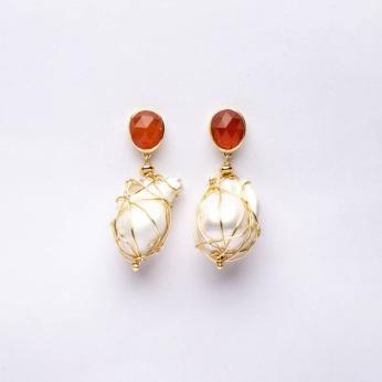 Laraba Earrings in Baroque
