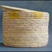 Yellow bordered handwoven Basketry