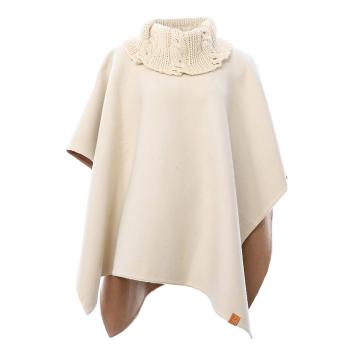 Knit Collar Poncho