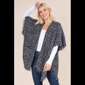 Tweed Kimono