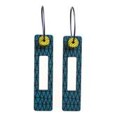 Abstract Art Earrings by Swedish Designer Tommy Karlsson