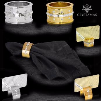 Napkin Rings by Crystamas