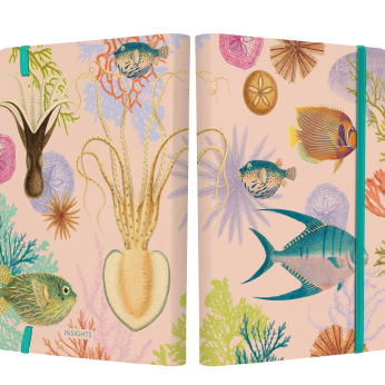 Art of Nature: Under the Sea Softcover Notebook