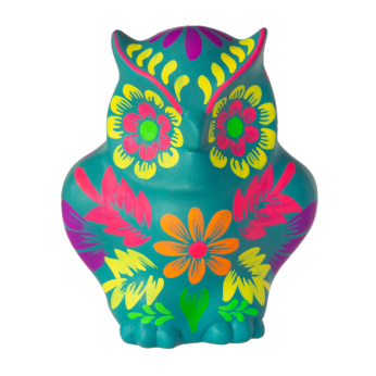 Fiesta Owl Teal - Small