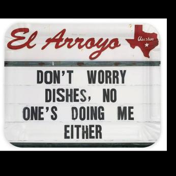 El Arroyo Party Plates