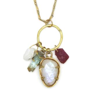 Hidden Treasure Charm Necklace