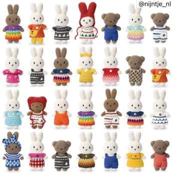 Just Dutch Miffy and Friends