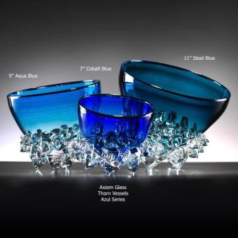 "Blown Glass - Thorn Series - ""Thorn Vessel"""