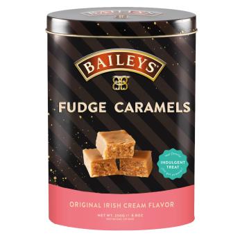 Baileys Irish Cream Flavored Fudge Caramels Tin