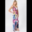 Multi Design Halter Neck Dress