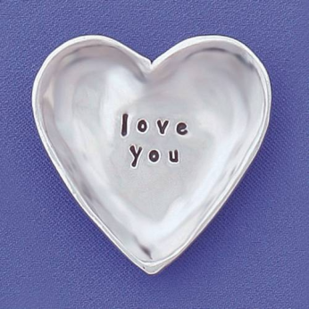 Love You small Charm Bowl