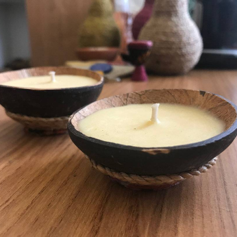 Coconut Tealight Candle