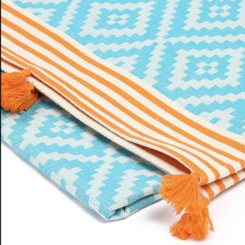 Merida  Turkish Towel / Blanket Turquoise