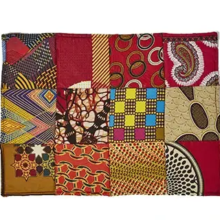 Table Place Mat Kitenge Patch - Rectangle