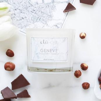 Geneva, Dark Chocolate and Hazelnut Candle