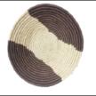 Double-toned Handwoven Wall Basket