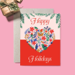 Joyful Heart Holiday Card